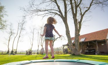 Hoe installeer je een inground trampoline?